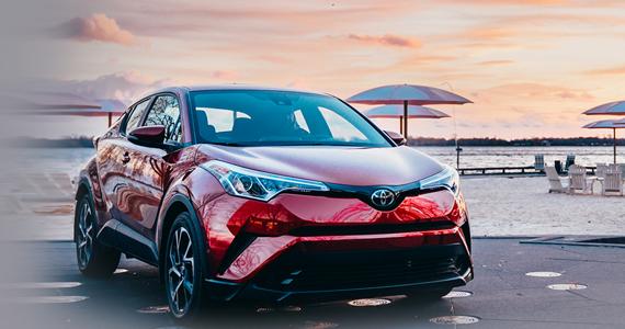 Gagnez un véhicule Toyota C-HR 2018