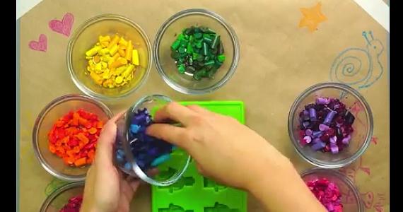 Amusez les enfants avec ce projet pour vos vieux crayons de couleur