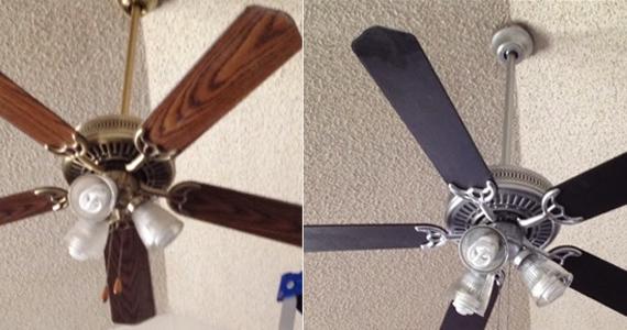 Transformez un ventilateur de plafond en élément de décor