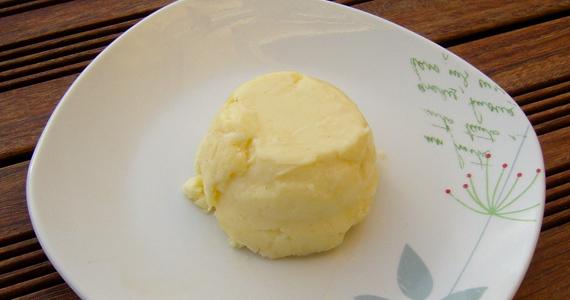 Beurre fait maison en 5 minutes!