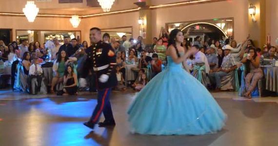 Cette danse d'un père avec sa fille charme tout le monde