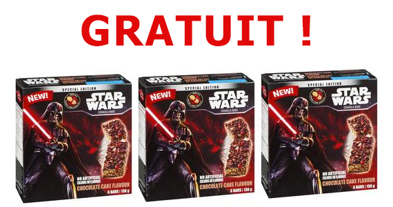 Gratuit – barres Star Wars édition spéciale de Betty Crocker