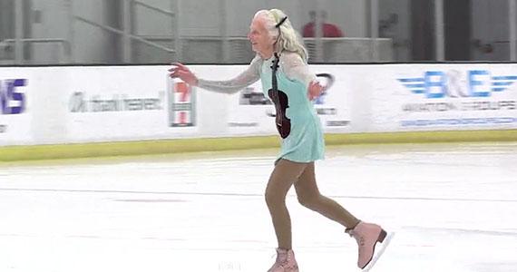 La championne du patinage artistique sénior a 90 ans!