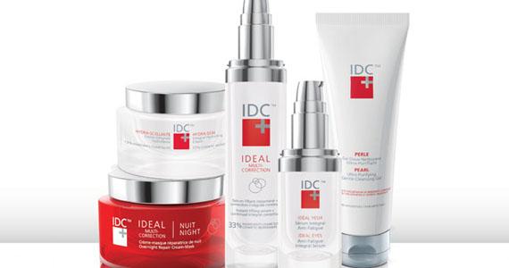 Gagnez un ensemble de produits de beauté IDC