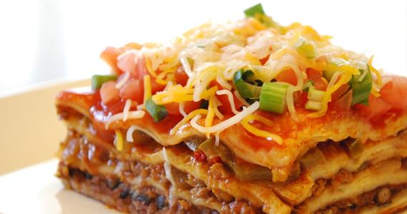 Délicieuse lasagne mexicaine vite faite