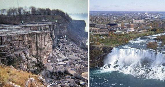 La vraie histoire derrière le jour où les chutes Niagara se sont arrêtées