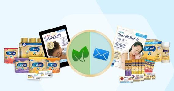 Échantillons gratuits de produits pour bébé