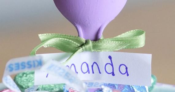 Offrez à vos invités un régal supplémentaire avec ces adorables porte-noms!
