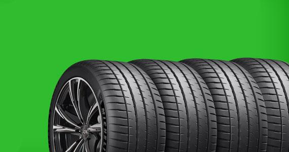 Gagnez un ensemble de pneus Michelin avec jantes stylisées