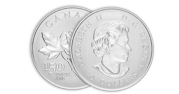 Gagnez une des 150 pièces en argent pur à 99,9 % d'une valeur d'environ 30 $.