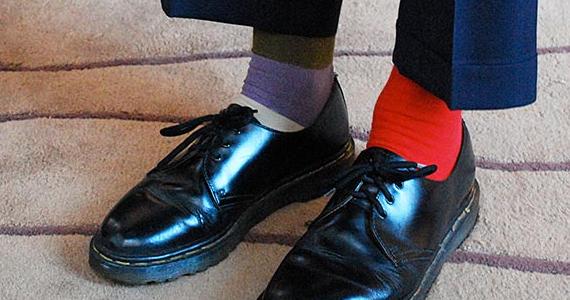 Huites façons pratiques d'utiliser des chaussettes dépareillées