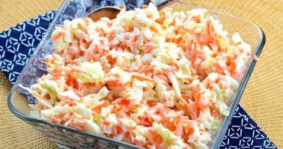 Savoureuse salade de chou traditionnelle