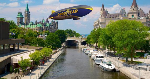 Gagnez un vol VIP à bord du dirigeable Goodyear