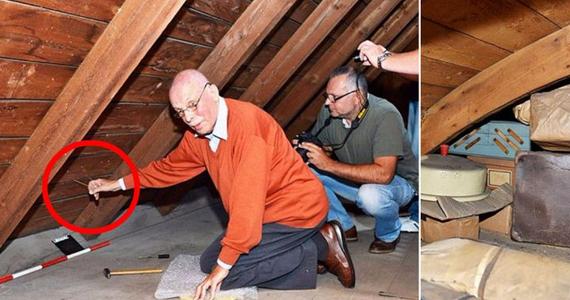 Il tire une ficelle dans son grenier et découvre un secret caché depuis 70 ans