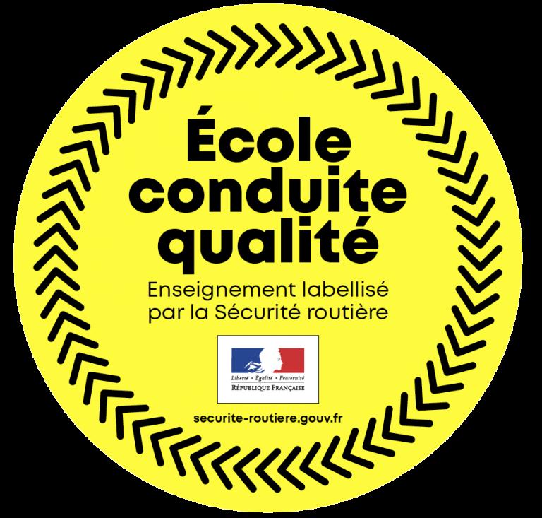Labelisation SR - Ecole conduite qualité