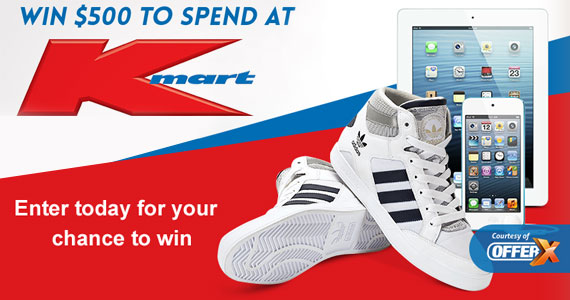$500 in Kmart Vouchers – Enter to Win!