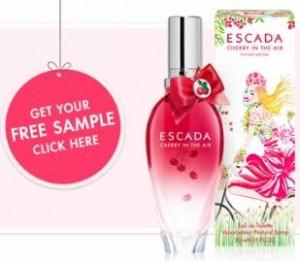 escada cherry sample
