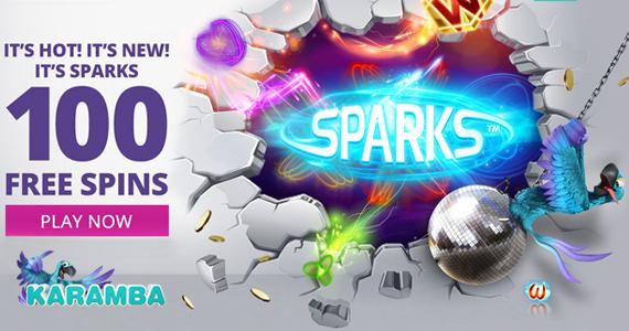 100 Free Spins & Jackpots with Karamba
