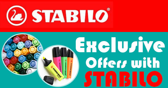 Exclusive Offers with Stabilo