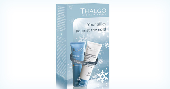 Win 1 of 15 Gentle Winter Kits from Thalgo