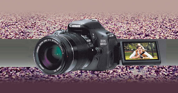 Win 1 of 3 Canon 600D SLR Cameras