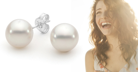 Win a Pair of Broome South Sea Pearls