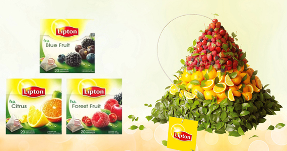Free Lipton Tea Pyramid Sample