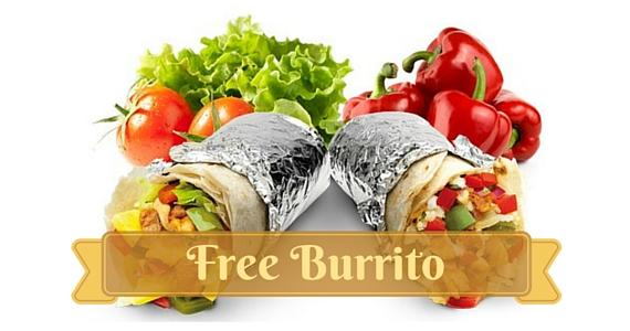 Free Salsa's Burrito from Mex Club