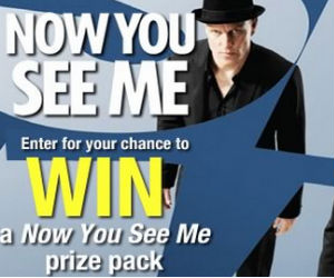 Now You See Me Prize Pack