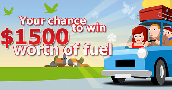 Win $1,500 Worth Of Fuel