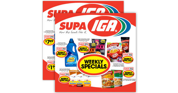 Access Specials & Promotions from IGA