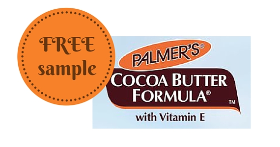 Free Sample of Palmer's Cocoa Butter Moisturizer
