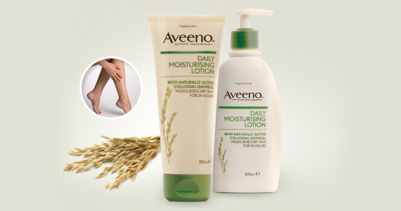 Free Aveeno Lotion Sample