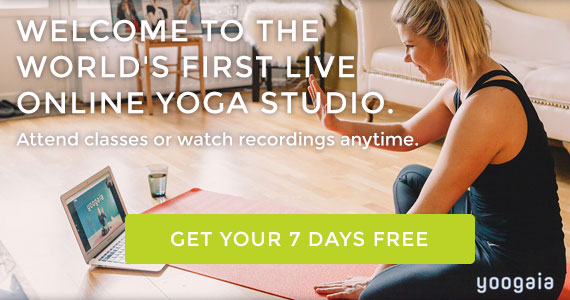 Free 7-Day Yoga Trial with Yoogaia