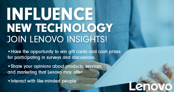 Talk to Win Cash and Gift Cards With Lenovo