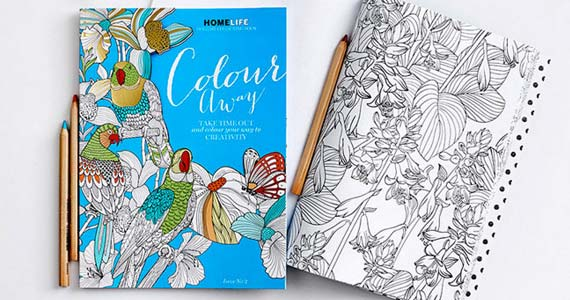 Free Colouring Page from Colour Away