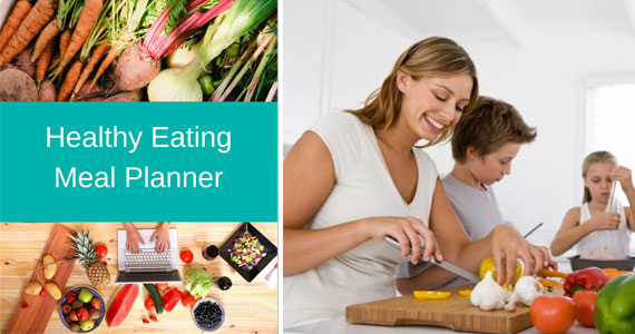 Get A Free Healthy Eating Meal Planner