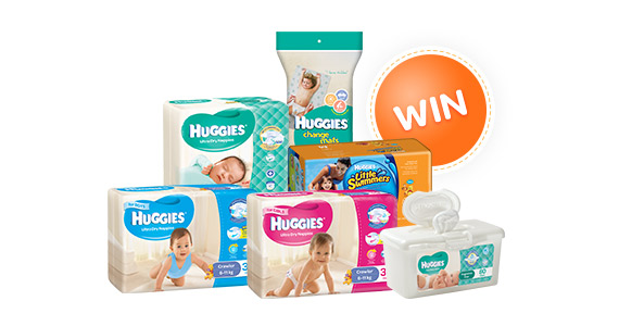 Join Huggies for Promotions, Offers & a Chance to Win!