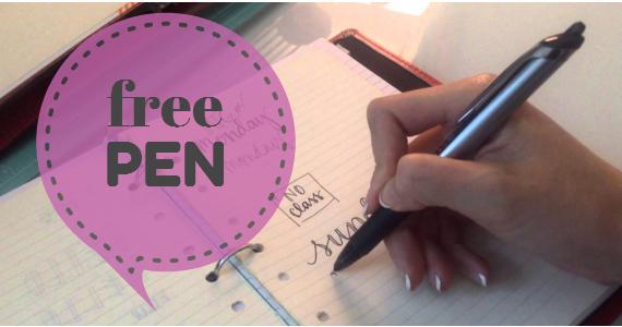 Free Sample Pen