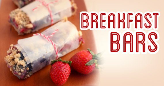Breakfast Bars You Can Grab & Go