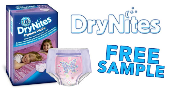 Free Sample of DryNites Pyjama Pants