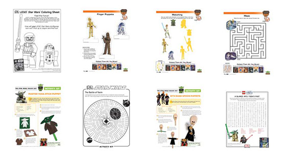 Free Star Wars Printables and Activities