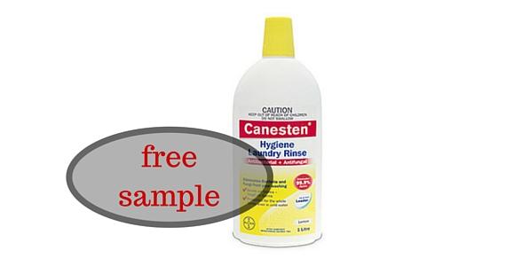 Free Sample of Canesten Hygiene Laundry Rinse