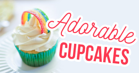 10 Adorable Cupcakes to Wow Your Guests