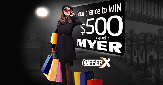 Win $500 To Spend At Myer