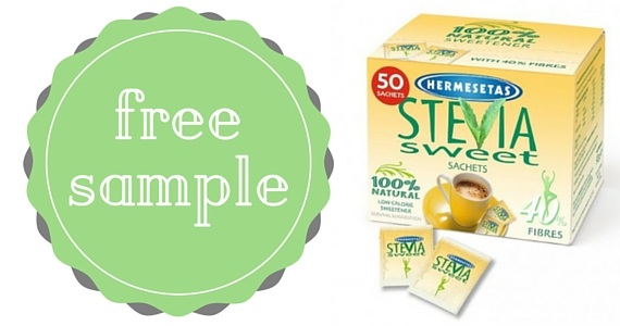 Free Sample of Stevia