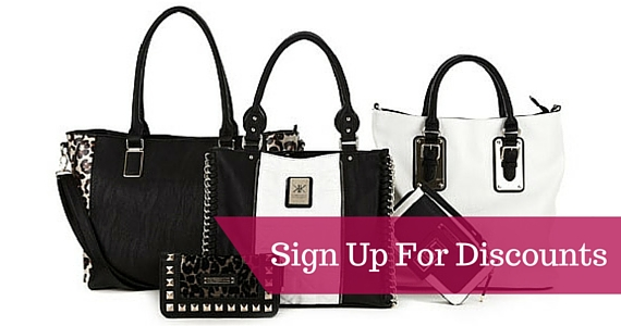 Sign Up for Extra Discounts from Strandbags