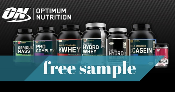 Free Optimum Nutrition Fan Kit