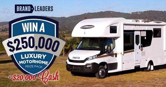Win a $250k Luxury Motorhome Prize Pack