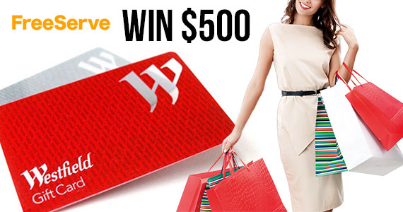 Win a $500 Westfields Gift Card